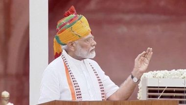 PM Narendra Modi on Independence Day 2019: 'Government to Launch Jal Jeevan Mission to Bring Piped Water to Households'