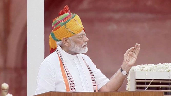 PM Narendra Modi on Independence Day 2019: 'People No Longer Happy with Plan of Railway Station, They Want Vande Bharat Express in Their Area'
