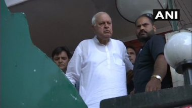Farooq Abdullah Threatens to Move Court Against Scrapping of Article 370, Says 'I Have Been Put Under House Arrest'; Amit Shah Rebuts Claim
