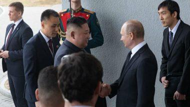 Kim Jong-un, Russia President Vladimir Putin Exchange Greetings on Korea's Liberation Day