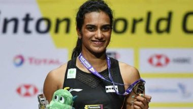 PV Sindhu Wins Historic Gold at BWF World Championships 2019: History Maker Indian Shuttler Dominates Final Bout Like No Other