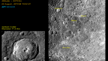 Chandrayaan 2 Captures Fresh Images of Craters on Moon's Surface; ISRO Releases Photos Taken by Terrain Mapping Camera-2 of Spacecraft