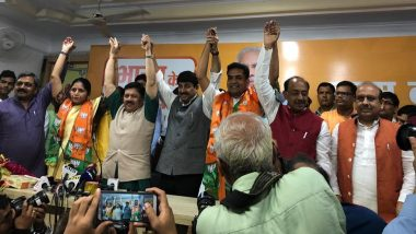 Disqualified AAP MLA Kapil Mishra and Women's Wing Chief Richa Pandey Join BJP