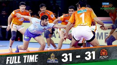 Pro Kabaddi League 7: Tamil Thalaivas and Puneri Paltan Play Out 31–31 Draw