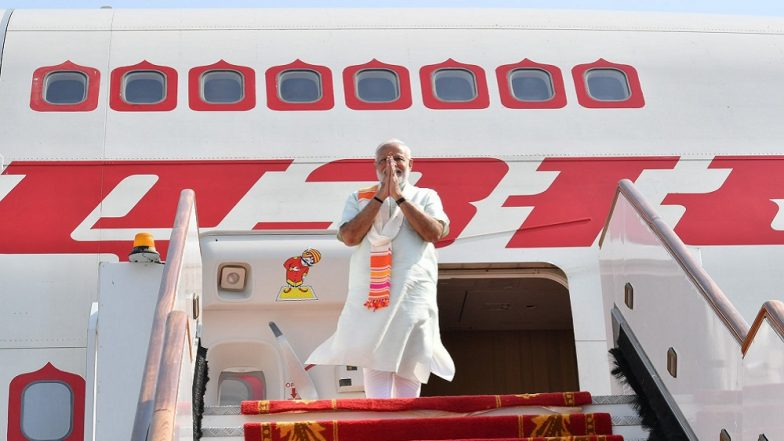 Prime Minister Narendra Modi Emplanes for France to Attend G7 Summit in Biarritz, Will Speak on Global Issues