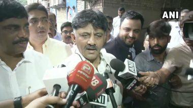 Congress Leader DK Shivakumar Appears Before ED in Money Laundering Case