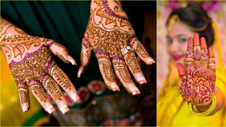 Easy Mehndi Designs for Kajari Teej 2019: Latest Arabic Mehandi Patterns and Simple Indian Henna Designs to Apply on Badi Teej or Satudi Teej (View Images and Videos)