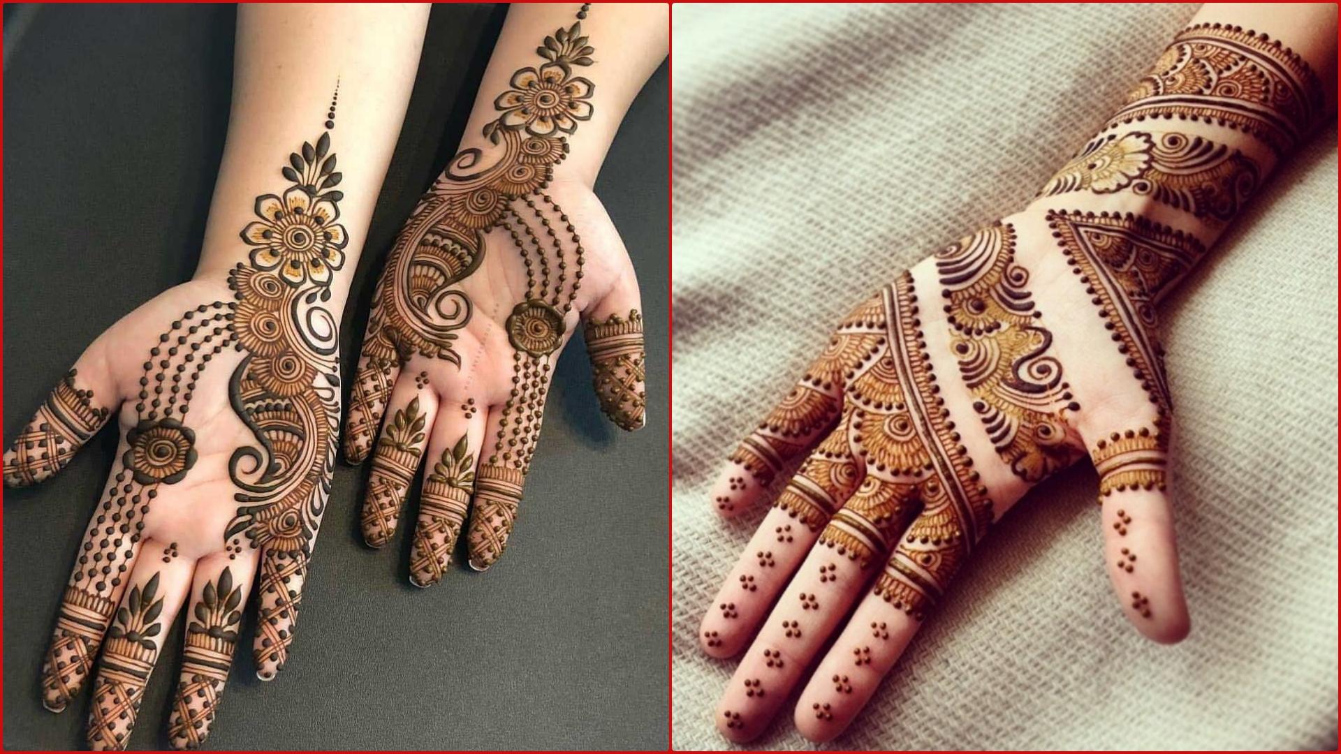 Easy Mehndi Designs And Patterns For Raksha Bandhan 2019