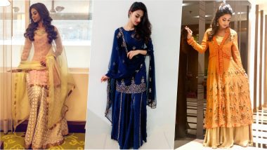 Eid Al-Adha 2019: From Jennifer Winget, Hina Khan to Erica Fernandes, Take Inspiration From These Telly Divas' Traditional Outfits This Bakrid
