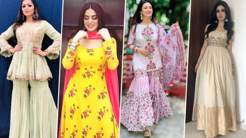 Eid Al-Adha 2019: Divyanka Tripathi, Mouni Roy, Shraddha Arya and Drashti Dhami Are Here to Give Us Style Inspo for Bakrid!