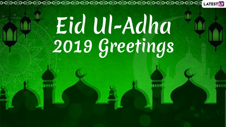 Eid Mubarak Greetings: Eid ul-Adha 2019 Messages, WhatsApp Stickers, Facebook Status And Quotes to Share on Bakrid