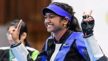 Shooter Elavenil Valarivan Wins Gold at ISSF World Cup 2019; Becomes the third Indian to Achieve the Feat