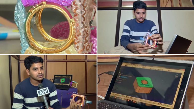 Bangles For Self Defence: Hyderabad Man Develops 'Electric Bangles' That Can Ward Off Molesters; See Pics