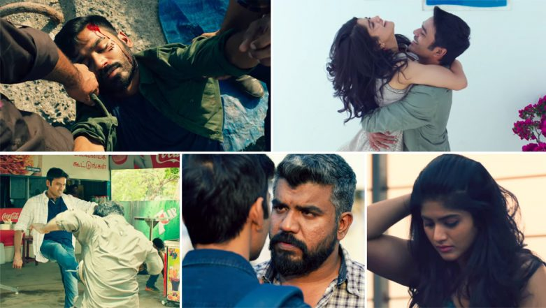 Enai Noki Paayum Thota Trailer: Dhanush and Megha Akash's Movie Directed by Gautam Vasudev Menon FINALLY Gets a Swanky New Promo with New Release Date (Watch Video)
