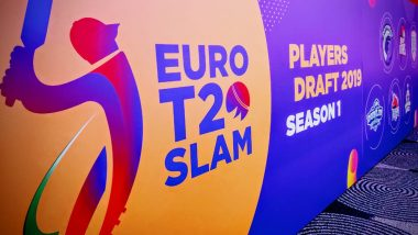 Euro T20 Slam's Inaugural Season postponed until 2020