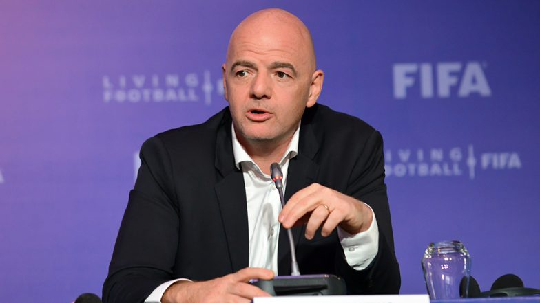 Gianni Infantino Tests Positive for COVID-19, FIFA President is Under Self-Isolation and Will Remain in Quarantine for 10 Days
