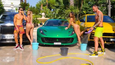 Ferarri Sends Notice to German Fashion Designer For Posting 'Distasteful' Pictures With Nude Models and Shoes on The Luxury Car