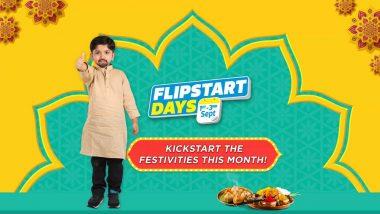 Flipkart Flipstart Days Sale: Celebrate Ganesh Chaturthi 2019 With Discounts on Phones, TV, Appliances, Electronics & More