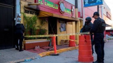 Mexico: Gunmen Ignite Fire in a Strip Club in Coatzacoalcos, 25 Killed