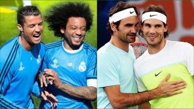 Happy Friendship Day 2019: Cristiano Ronaldo-Marcelo, Rafael Nadal-Roger Federer and Other Sports Personalities Who Are Best Friends in Real Life