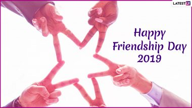 Friendship Day 2019 Hindi Wishes in Advance: WhatsApp Stickers, Dosti Shayari, GIF Image Greetings, SMS and Quotes to Wish Happy Friendship Day