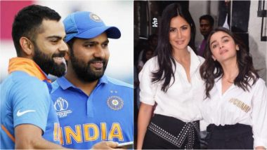 Friends or Foes: Virat Kohli-Rohit Sharma, Katrina Kaif-Alia Bhatt & Other Celeb Pairs Who Confuse Fans With Their 'Friendship' Status