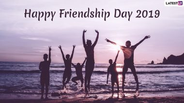Happy Friendship Day 2019 Greetings: Send These Wishes, WhatsApp Stickers, Messages, SMSes And Quotes to Your Friends Today