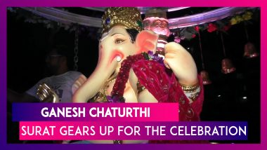 Ganesh Festival: Devotees Gear Up For The 10-Day-Long Celebration In Surat, Gujarat