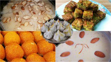 Ganesh Chaturthi 2019 Bhog Ideas: Apart From Modak, Here's a List of Lip-Smacking Delicacies That You Can Offer to Ganpati Bappa During Ganeshotsav
