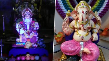 Ganesh Chaturthi 2019 Home Decoration Ideas: 5 Simple and Creative Ways to Decorate Ganesh Pandal at Home For Ganeshotsav  (View Images and Videos)