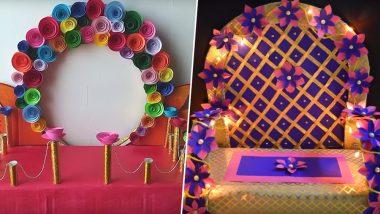 Ganesh Chaturthi 8 Makhar Decoration Ideas: 8 Ways to Enhance