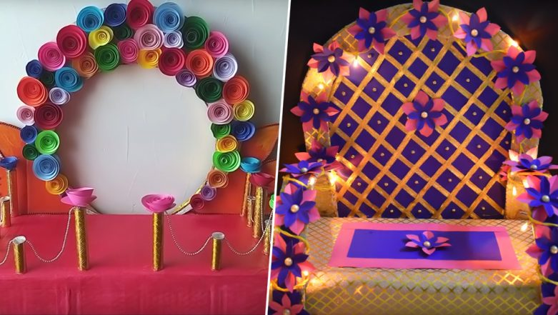 Ganesh Chaturthi 2019 Makhar Decoration Ideas: 5 Ways to ...