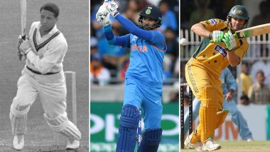 International Lefthanders Day 2019: Sir Gary Sobers, Yuvraj Singh, Adam Gilchrist & Other Greatest Left-Handed Batsmen in Cricket Cricket Field