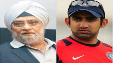 Bishen Singh Bedi Responds to Gautam Gambhir's Attack Over Navdeep Saini's Debut For Team India