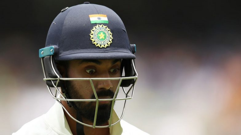 India vs West Indies 1st Test: Indian Opener KL Rahul Disappointed After Scoring Only 38 Runs