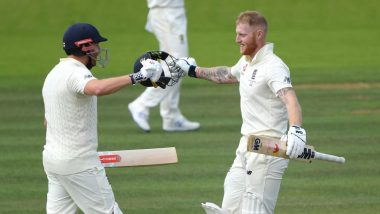 Ashes 2019 Series: Ben Stokes' Century Helps England Set 267-Run Target Against Australia in 2nd Test at Lord's