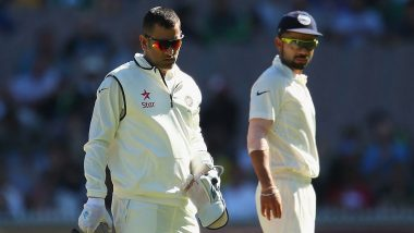 Virat Kohli One Win Away From Equalling MS Dhoni's Test Captaincy Record of Most Wins as Indian Captain