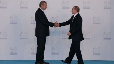Russian President Vladimir Putin, Turkish President Tayyip Erdogan Say Ready to Expand Military Cooperation