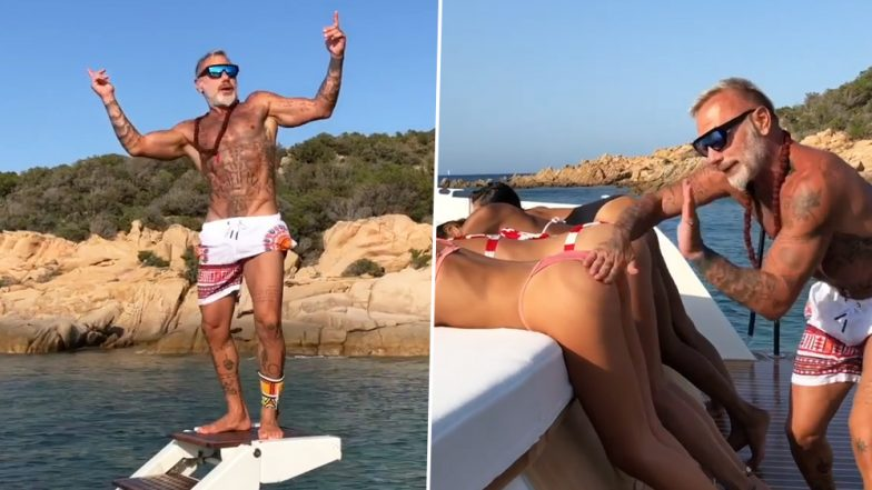 Gianluca Vacchi, Italian Millionaire Playboy Films Himself Spanking Bums of Bikini-Clad Models, Internet Is Not Impressed With His Distasteful Video