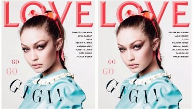 Gigi Hadid Looks Like Barbie Gone Wild for the Cover of Love Magazine
