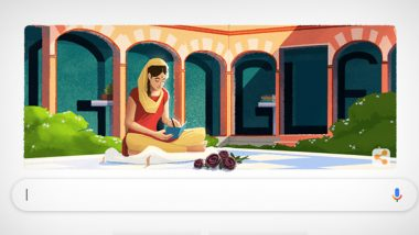 Amrita Pritam Google Doodle: Search Engine Honours Renowned Punjabi Writer on Her 100th Birth Anniversary