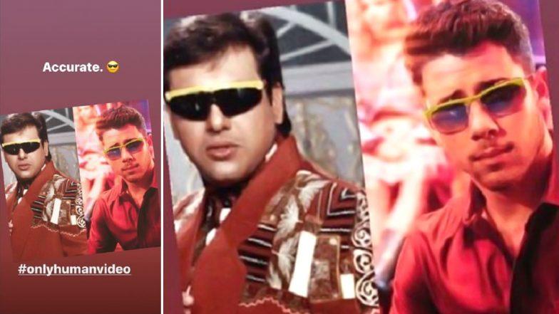 Nick Jonas Imitates Bollywood 'Hero' Govinda in His Latest Instagram Post and it is Hilarious!