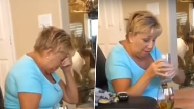 Grandmother Giggling And Swaying After Eating Grandson's Cannabis-Laced Food Leaves the Internet in Splits (Watch Video)