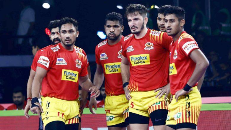 Gujarat Fortunegiants vs Tamil Thalaivas PKL 2019 Match 34 Free Live Streaming and Telecast Details: Watch GUJ vs TAM, VIVO Pro Kabaddi League Season 7 Clash Online on Hotstar and Star Sports