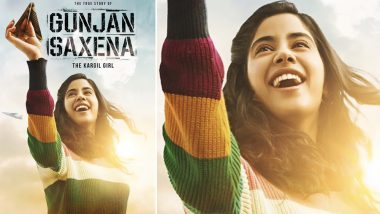 Gunjan Saxena: The Kargil Girl First Look- Janhvi Kapoor's Film on the Famous War Pilot Gets a Breezy Poster (See Pic)