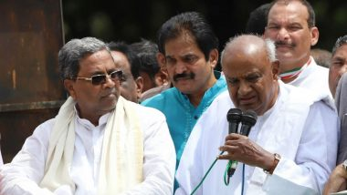 HD Deve Gowda, Siddaramaiah Engage in War of Words Over Collapse of JDS-Congress Government in Karnataka