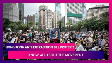 Hong Kong Protests: Know All About The Movement Which Was Sparked By Anti-Extradition Bill Protests