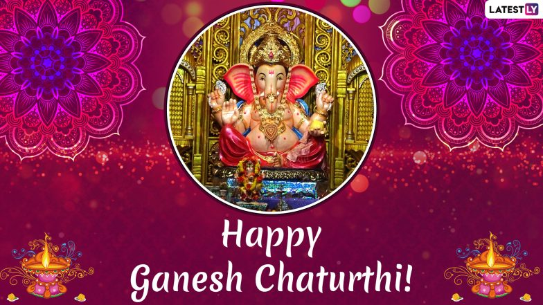 Happy Ganesh Chaturthi 2019 Images for Free Download: WhatsApp Stickers, GIFs, Ganpati Bappa Morya Greetings, SMS, Status, Quotes & DPs to Send During Ganeshotsav