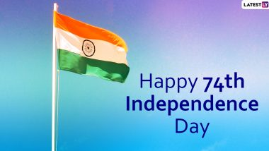 Happy Indian Independence Day 2020 Wishes: WhatsApp Stickers, Patriotic Quotes, GIF Images, Messages to Send Heartfelt Greetings on This National Festival