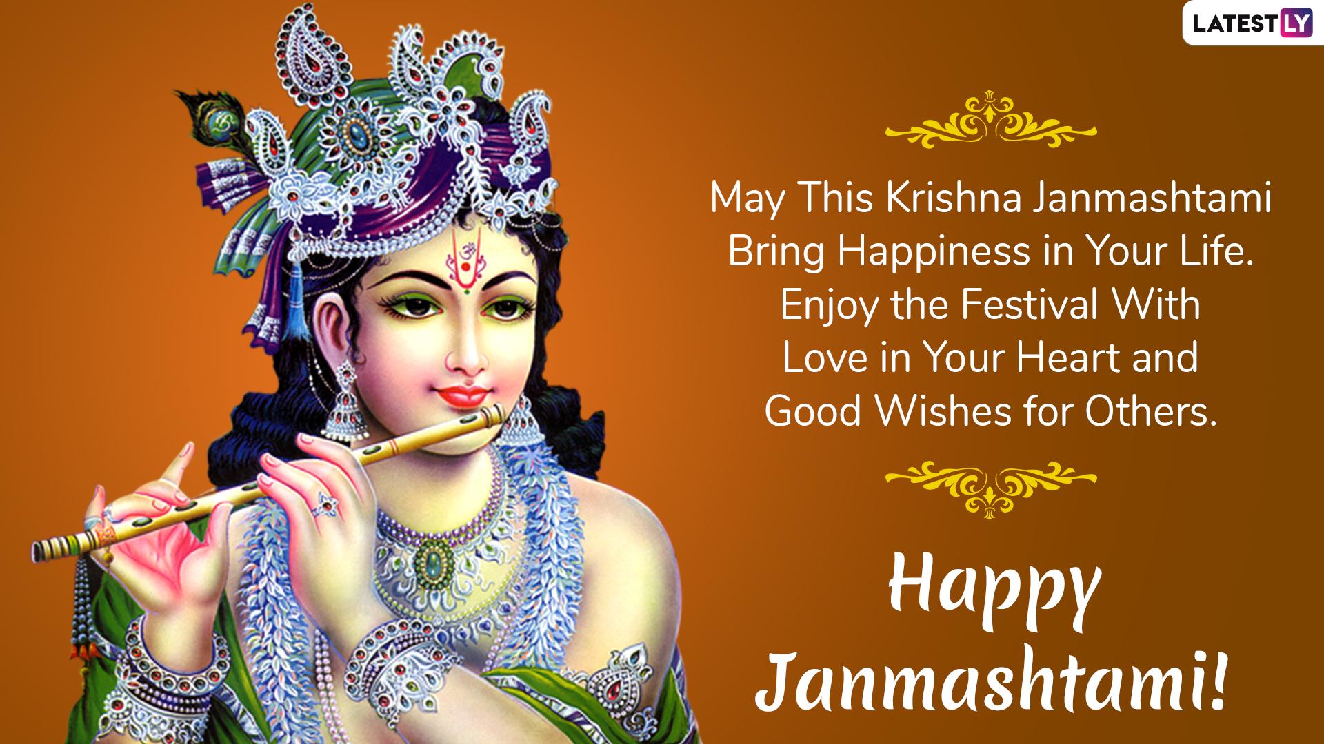 Happy Janmashtami 2019 Wishes And Messages Whatsapp